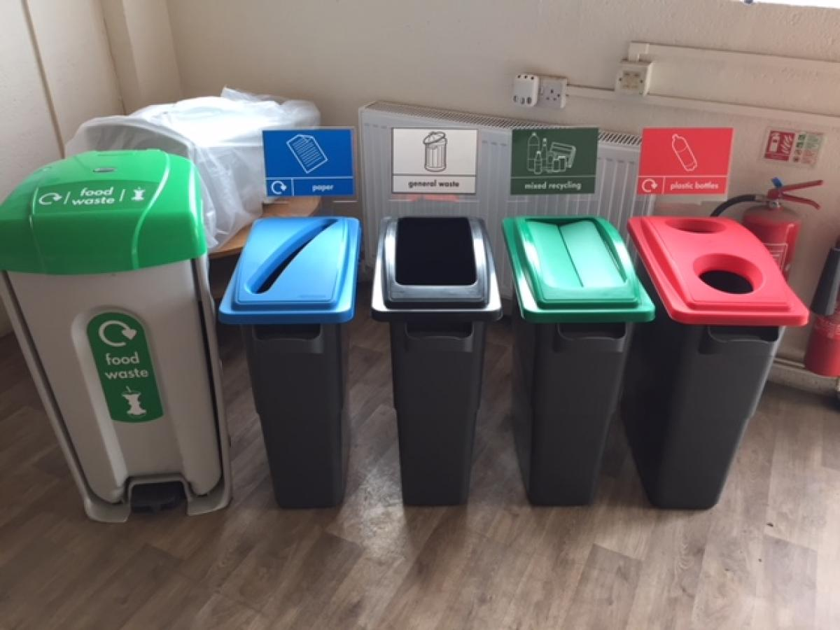 We Can Also Offer Complete Office Recycling Bin Disposal Sets To Keep  Offices Nice And Tidy And To Also Encourage The Correct Recycling Of The  Different ...